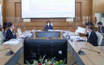ประชุมคณะอนุกรรมการบริหารกองทุนพัฒนาสื่อปลอดภัยและสร้างสรรค์ ครั้งที่ 5/2564