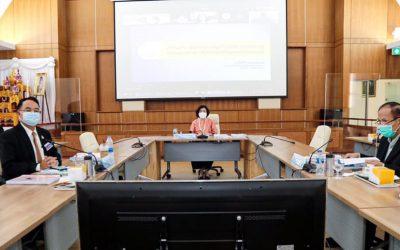 ประชุมคณะอนุกรรมการบริหารกองทุนพัฒนาสื่อปลอดภัยและสร้างสรรค์ ครั้งที่ 6/2564