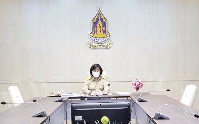 ประชุมคณะอนุกรรมการบริหารกองทุนพัฒนาสื่อปลอดภัยและสร้างสรรค์ ครั้งที่ 7/2564