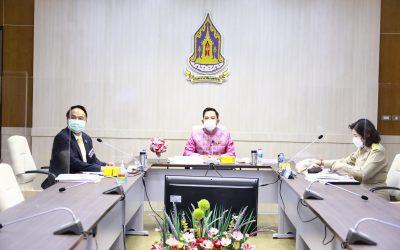 ประชุมคณะกรรมการกองทุนพัฒนาสื่อปลอดภัยและสร้างสรรค์ ครั้งที่ 7/2564